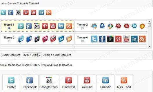Floating Social Media