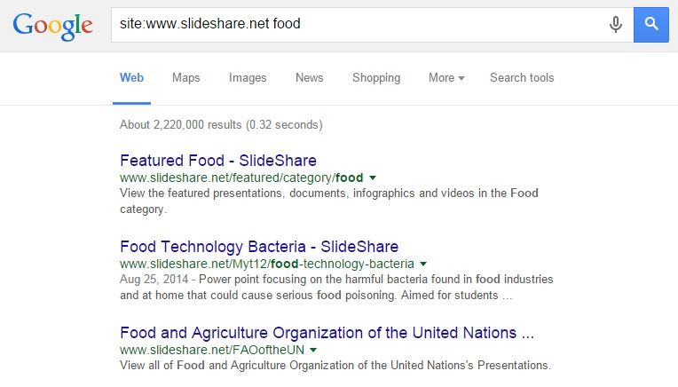 slideshare-food