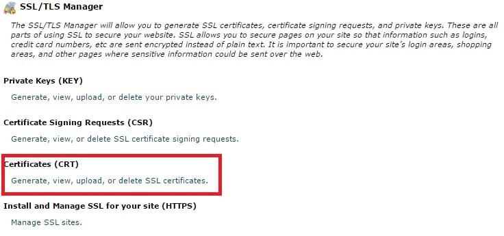 التحويل الى SSL