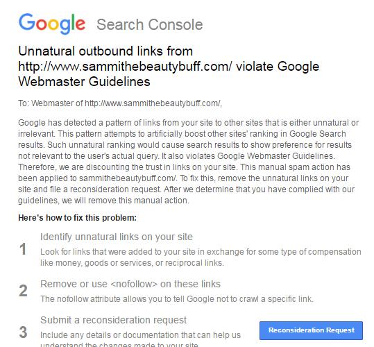 رسالة تحذيرية لاصحاب المواقع